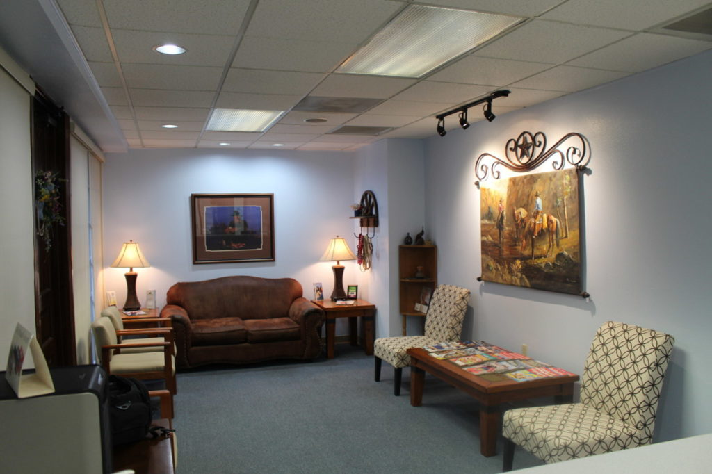 Interior of Dr. Holbrooks office